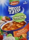 Erasco Heisse Tasse Tomaten-Mozzarella, 12er Pack (12 x 450 ml Beutel) - 1