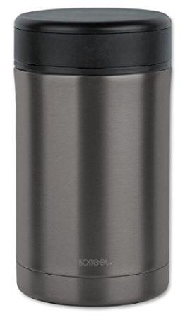 Isosteel VA-9684AT Isolierbehälter für Lebensmittel 0,5 L, titan-grau - 1