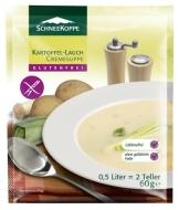 Schneekoppe Kartoffel-Lauch Cremesuppe, 6er Pack (6 x 60 g) - 1