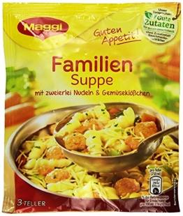 Maggi Guten Appetit Familien-Suppe, 9er Pack (9 x 60 g) - 1