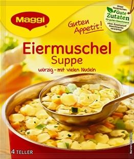 Maggi Guten Appetit Suppe Eiermuschel, 22er Pack (22 x 51 g) - 1