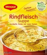 Maggi Guten Appetit Suppe Rindfleisch, 18er Pack (18 x 85 g) - 1