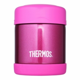 Thermos Foogo Speise-Isoliergefäß, Edelstahl, 290 ml, pink - 1