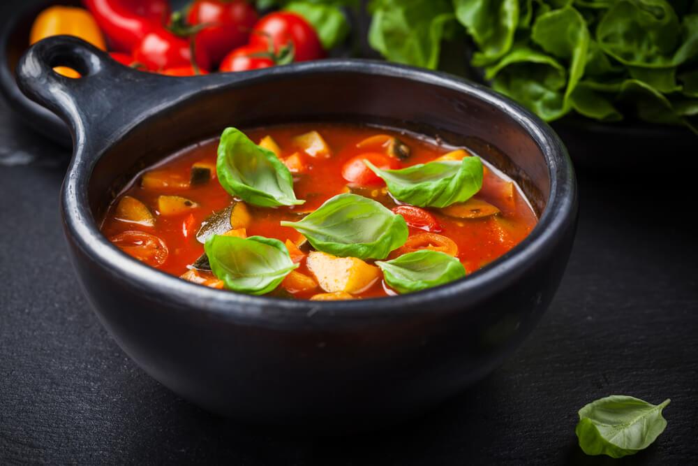 Minestrone-Suppe