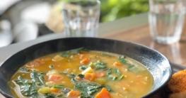 Bunte Gemüsesuppe nach Omas Rezept selber machen